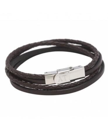 Bracelet cuir garçon - Petits Trésors