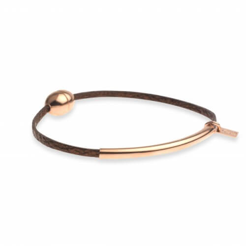 Flowers For Zoé : bracelet cuir tube
