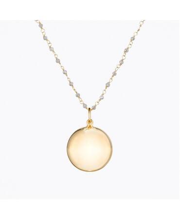 Bola de grossesse Pearl plaqué or jaune - Ilado