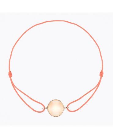 Bracelet bola plaqué or rose - Ilado
