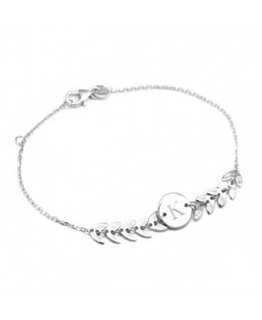 Bracelet chaîne épis argent - Petits Trésors 72695a462445
