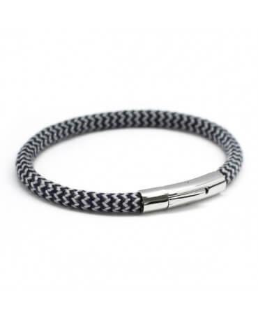 Bracelet homme corde marin - Le Voyageur - Petits Trésors