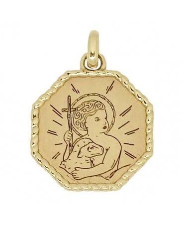 Médaille Enfant Jésus - Poinçon 22