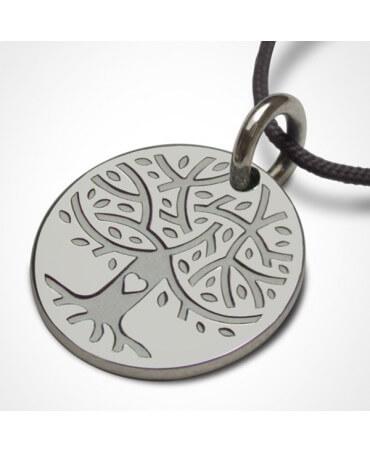 Médaille Love Tree argent - Mikado