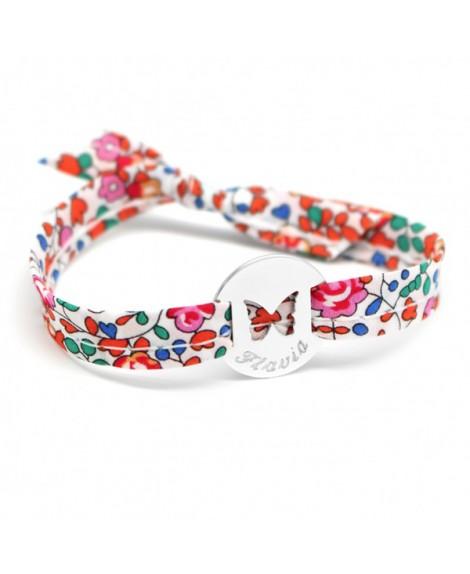 Petits trésors : bracelet liberty papillon