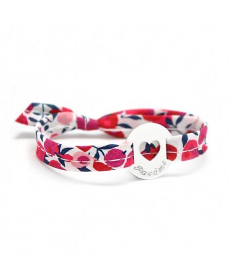 Petits trésors : bracelet liberty coeur