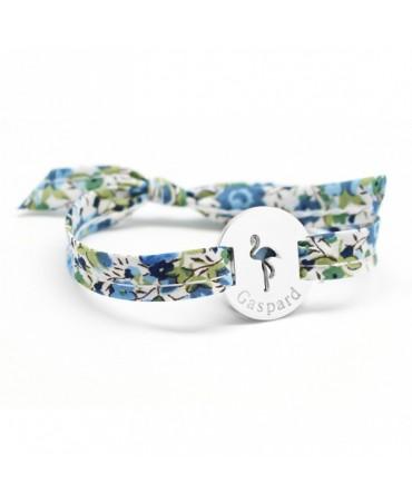 Petits trésors : bracelet liberty flamant