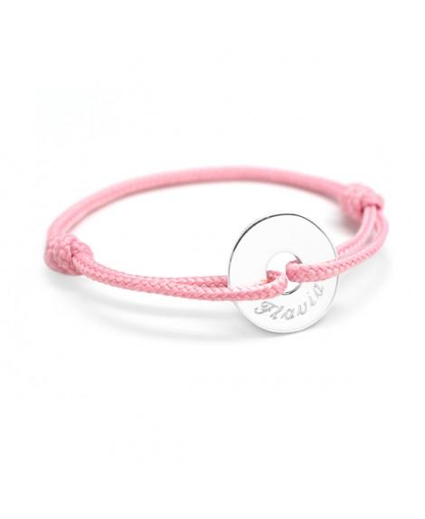 Petits Trésors : bracelet mini jeton argent