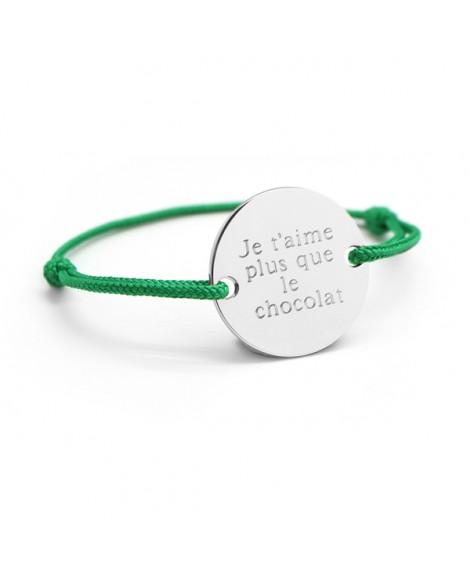 Petits trésors : bracelet family argent