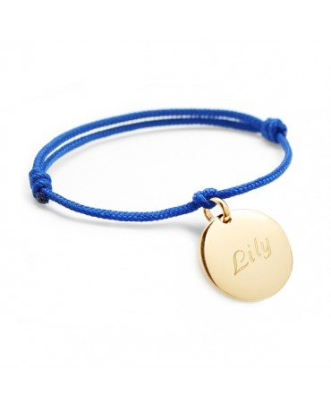 Petits Trésors : bracelet médailles plaqué or à graver