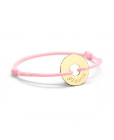 Petits Trésors : bracelet Petite Chérie plaqué or