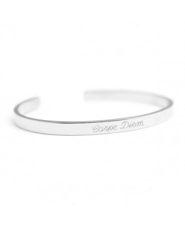 Petits Trésors : bracelet jonc solo (argent)