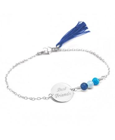 Petits Trésors : bracelet Bahia argent