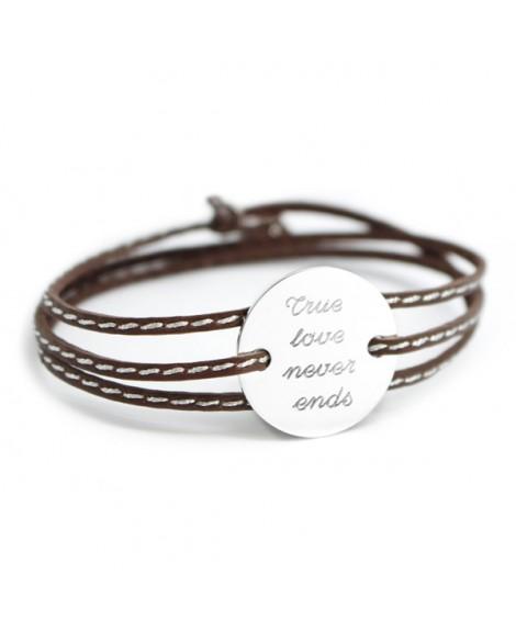 Petits trésors : bracelet amazone family argent