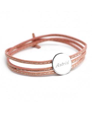 Petits trésors : bracelet amazone médaille argent
