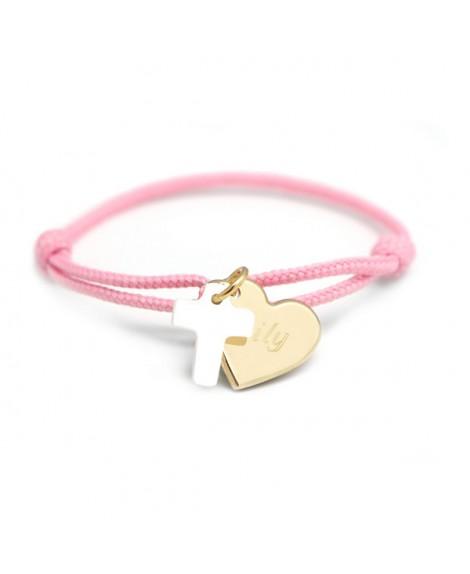 Petits Trésors : bracelet Kids cœur de croix