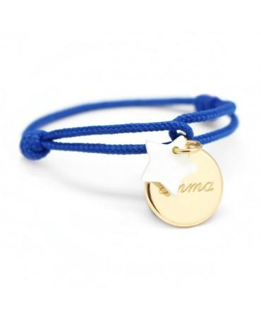 Petits Trésors : bracelet Kids étoile plaqué or