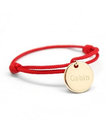Petits Trésors : bracelet Kids médaille plaqué or