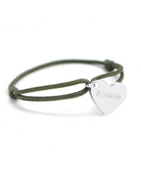 Petits Trésors : bracelet Kids cœur argent