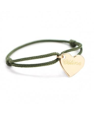 Petits Trésors : bracelet Kids cœur plaqué or