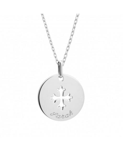 Petits trésors : pendentif croix occitane en argent