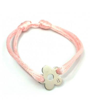 Bracelet fleur argent Loupidou