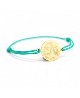 Bracelet bébé ange plaqué or - Petits Trésors