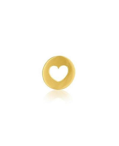 Pendentif cœur or jaune - AUGIS