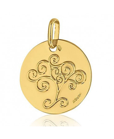 Médaille Arbre de Vie or jaune - AUGIS