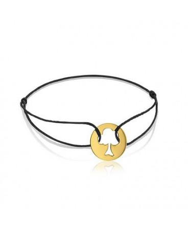 Bracelet arbre de vie or jaune - AUGIS