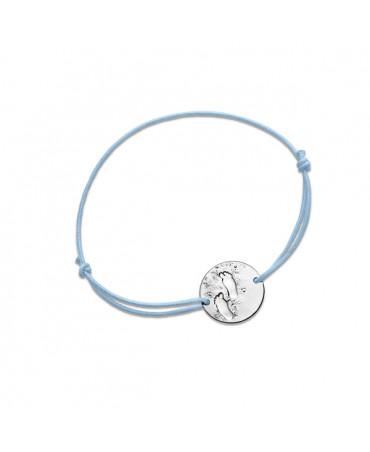 Bracelet bébé garçon Premiers pas sur Terre argent - Monnaie de Paris