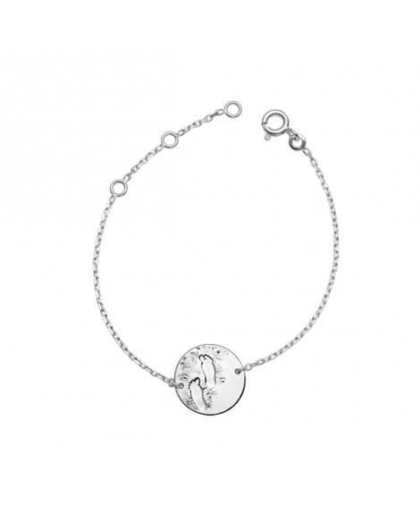 Bracelet bébé Premiers pas sur Terre argent - Monnaie de Paris