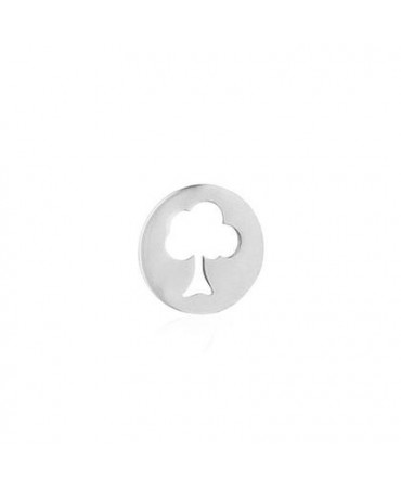 Pendentif arbre de vie or blanc - AUGIS