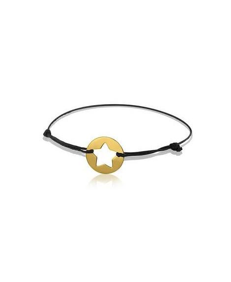 Bracelet étoile or jaune - AUGIS