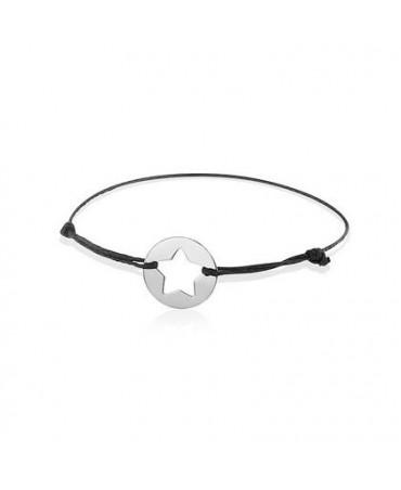 Bracelet étoile or blanc - AUGIS