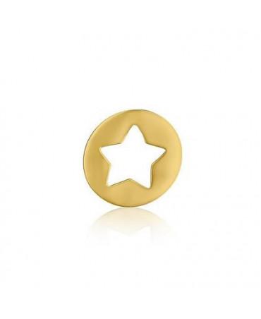 Pendentif étoile or jaune - AUGIS