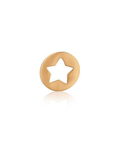 Pendentif étoile or rose - AUGIS