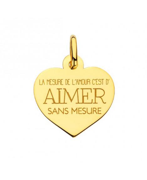 Pendentif cœur Aimer - Augis