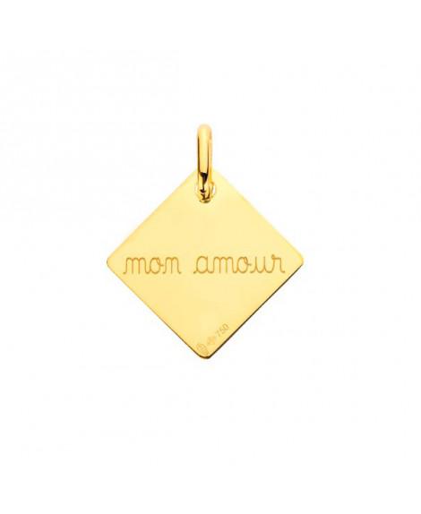 """Pendentif enveloppe """"mon amour"""" - Augis"""