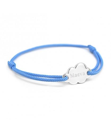 Bracelet Kids Nuage argent - Petits Trésors