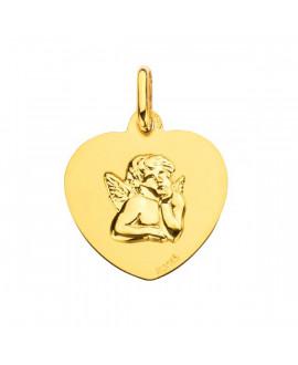 Médaille Cœur Ange - Augis