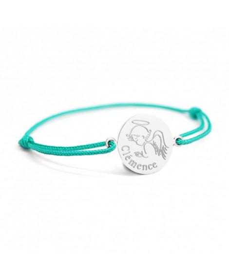 Bracelet bébé ange argent - Petits Trésors
