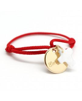 Petits trésors : bracelet kids médaille et croix