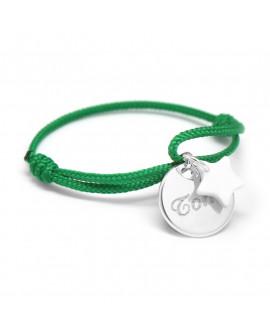 Petits Trésors : bracelet Kids étoile argent