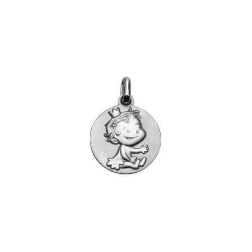 La fée galipette : médaille curieuse or blanc