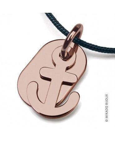 Mikado : pendentif Popeye (or rose)