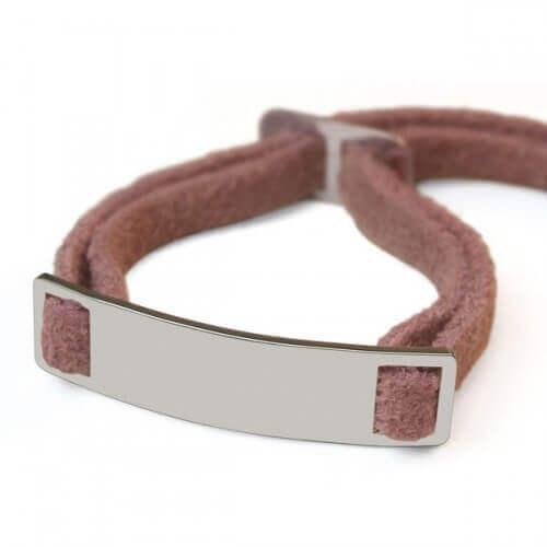 Mikado : bracelet Skin (argent)