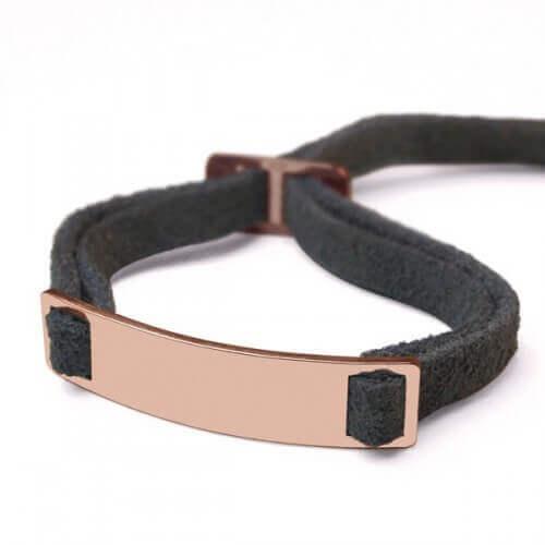 Mikado : bracelet Skin (or rose)