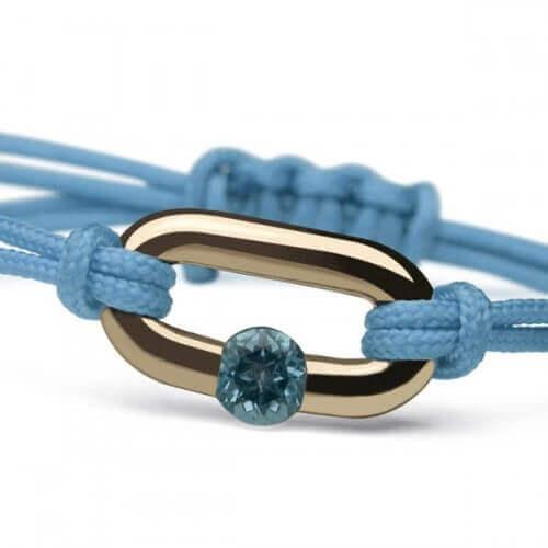 Mikado : bracelet Newborn (or jaune)