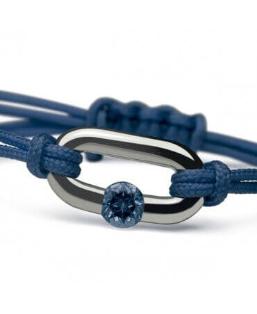 Mikado : bracelet Newborn (or blanc)